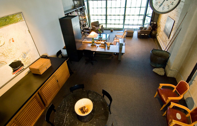clock tower loft overview