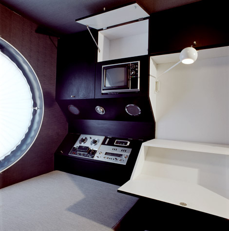 Nakagin Capsule Tower interior