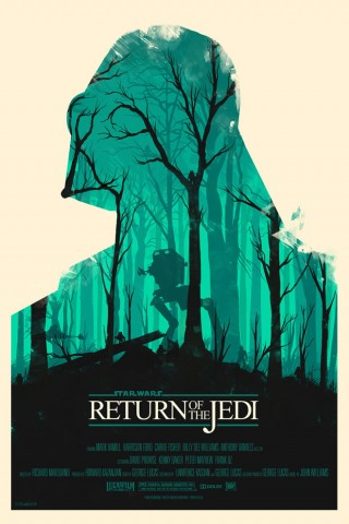 Olly Moss - Return of Jedi