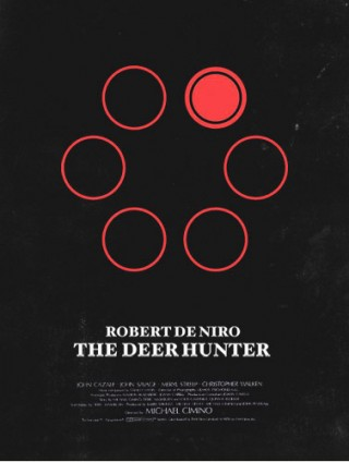 Olly Moss Deerhunter poster